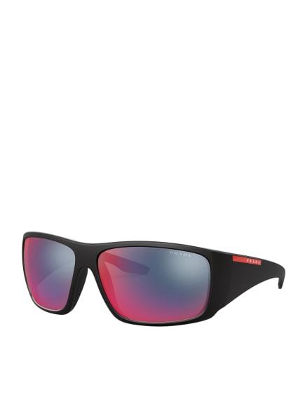 PRADA Sonnenbrille PS 04VS, Farbe: 1BO9Q1 - SCHWARZ/ BUNT POLARISIERT (Bild 1)