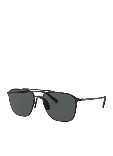 EMPORIO ARMANI Sonnenbrille AR6110, Farbe: 300187 - MATT SCHWARZ/ GRAU (Bild 1)