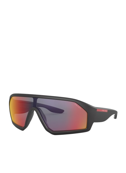 PRADA Sonnenbrille PS 03VS, Farbe: 1BO9Q1 - SCHWARZ/ GRAU (Bild 1)