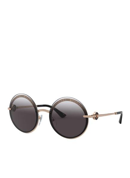 BVLGARI Sunglasses Sonnenbrille BV6148B, Farbe: 20148G - GOLD/ SCHWARZ/GRAU VERLAUF (Bild 1)