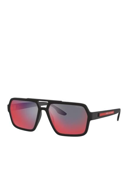 PRADA Sonnenbrille PS 01XS, Farbe: DG008F - MATT SCHWARZ/ GRAU/ PINK (Bild 1)
