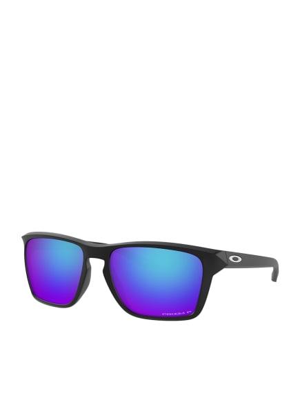 OAKLEY Sonnenbrille OO9448, Farbe: 944812 - MATT SCHWARZ/ BLAU POLARISIERT (Bild 1)