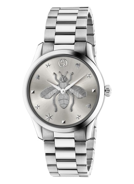 GUCCI Armbanduhr G-TIMELESS, Farbe: SILBER (Bild 1)