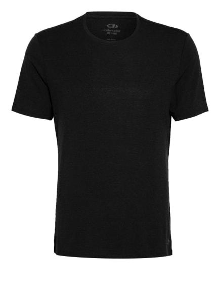 icebreaker Funktionswäsche-Shirt ANATOMICA aus Merinowolle, Farbe: SCHWARZ (Bild 1)