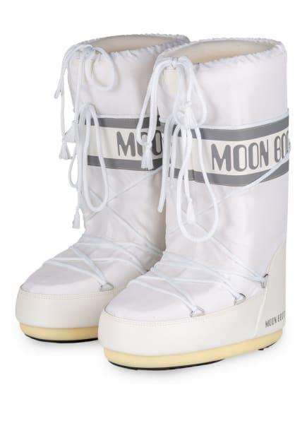 MOON BOOT Moon Boots NYLON GLANCE, Farbe: WEISS (Bild 1)