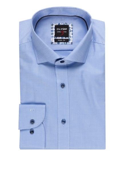 OLYMP Hemd Level Five body fit, Farbe: HELLBLAU/ WEISS (Bild 1)