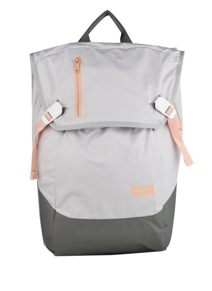 AEVOR Rucksack DAYPACK 18 l (erweiterbar auf 28 Liter) mit Laptop-Fach, Farbe: GRAU/ HELLGRAU (Bild 1)