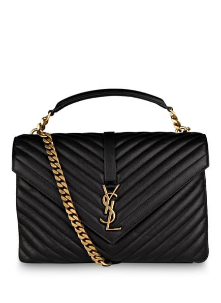 SAINT LAURENT Handtasche COLLEGE LARGE , Farbe: SCHWARZ (Bild 1)