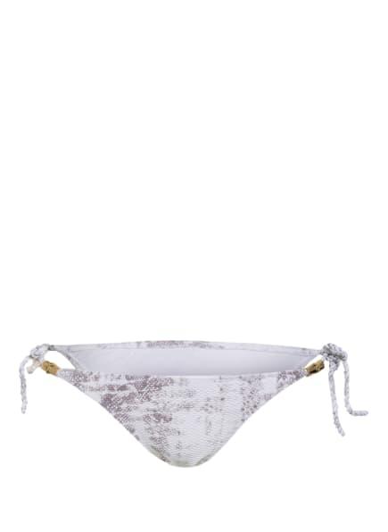 heidi klein Bikini-Hose CORE ROPE, Farbe: WEISS/ TAUPE (Bild 1)