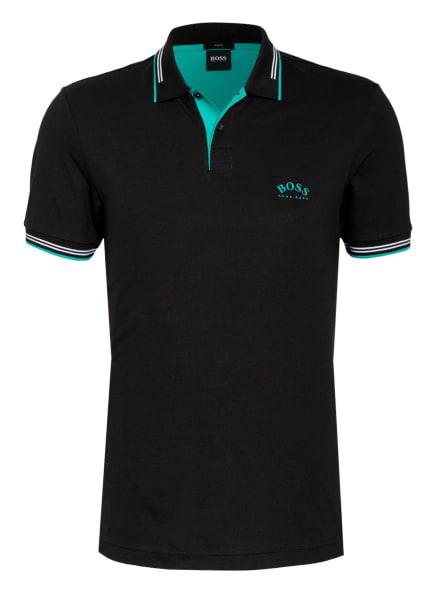 BOSS Piqué-Poloshirt PAUL Slim Fit , Farbe: SCHWARZ (Bild 1)