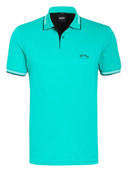 BOSS Piqué-Poloshirt PAUL Slim Fit , Farbe: GRÜN (Bild 1)