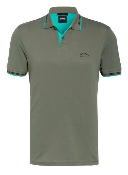 BOSS Piqué-Poloshirt PAUL Slim Fit , Farbe: KHAKI (Bild 1)