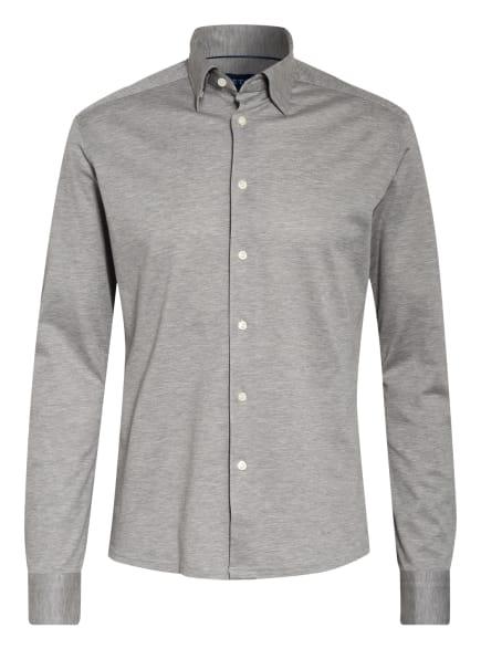 ETON Piqué-Hemd Regular Fit, Farbe: GRAU (Bild 1)