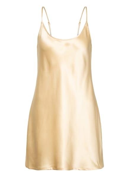 LA PERLA Negligé SILK aus Seide, Farbe: GOLD (Bild 1)