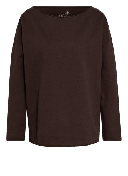 Juvia Sweatshirt , Farbe: DUNKELBRAUN (Bild 1)