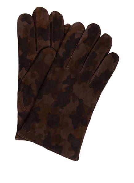 TR HANDSCHUHE WIEN Lederhandschuhe, Farbe: BRAUN (Bild 1)