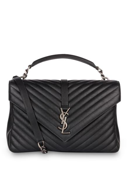 SAINT LAURENT Handtasche COLLEGE LARGE, Farbe: 1000 NOIR (Bild 1)