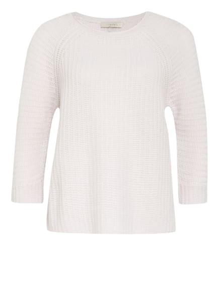 lilienfels Cashmere-Pullover mit 3/4-Arm, Farbe: HELLGRAU (Bild 1)