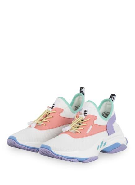 STEVE MADDEN Plateau-Sneaker MATCH, Farbe: WEISS/ HELLLILA/ ROSA (Bild 1)