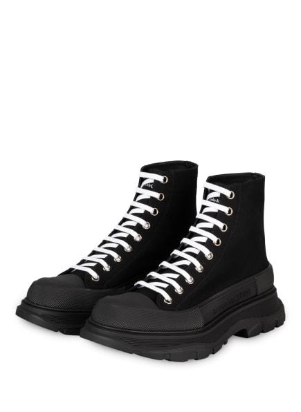 Alexander McQUEEN Hightop-Sneaker, Farbe: SCHWARZ (Bild 1)