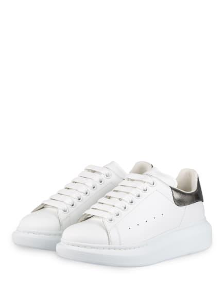 Alexander McQUEEN Plateau-Sneaker , Farbe: WEISS/ SILBER (Bild 1)