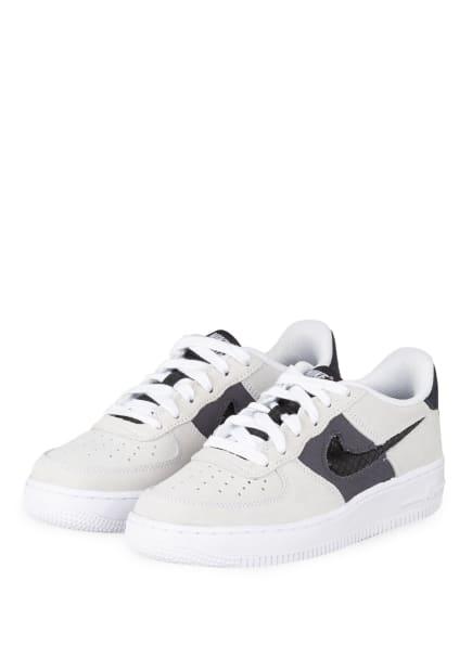 Nike Sneaker AIR FORCE 1 LV8, Farbe: HELLGRAU/ SCHWARZ (Bild 1)