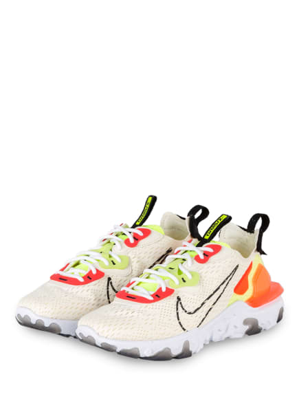 Nike Sneaker REACT VISION, Farbe: ECRU/ ROT/ GRÜN (Bild 1)