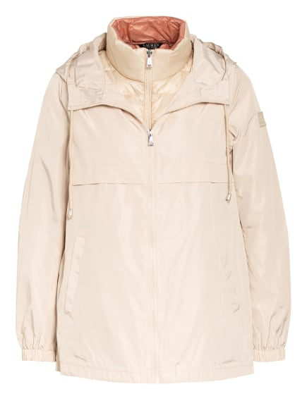 LAUREN RALPH LAUREN 2-in-1-Jacke mit herausnehmbarer Steppweste, Farbe: BEIGE (Bild 1)