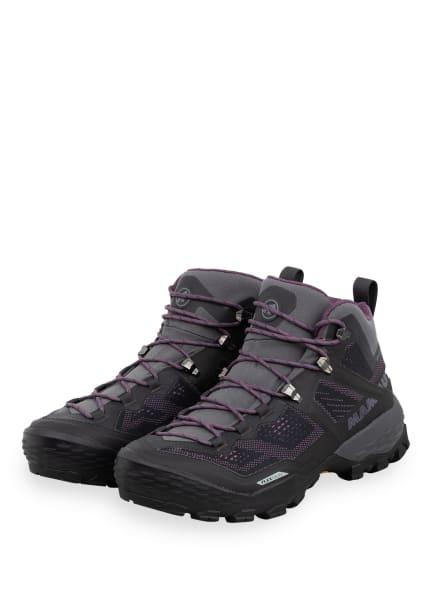 MAMMUT Outdoor-Schuhe DUCAN MID GTX, Farbe: GRAU/ BRAUN/ LILA (Bild 1)