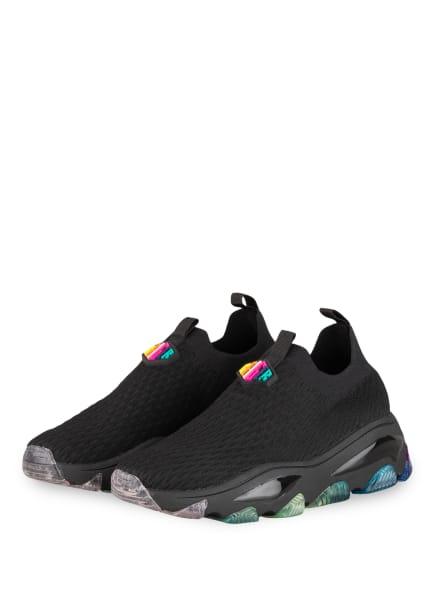 KURT GEIGER Plateau-Sneaker LETTIE KNIT, Farbe: SCHWARZ (Bild 1)