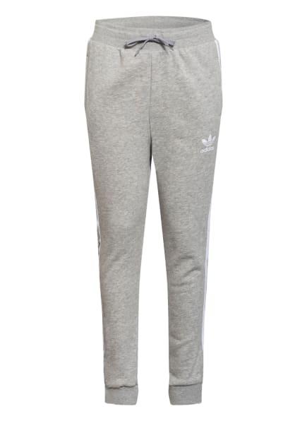 adidas Originals Hose im Jogging-Stil, Farbe: GRAU/ WEISS (Bild 1)