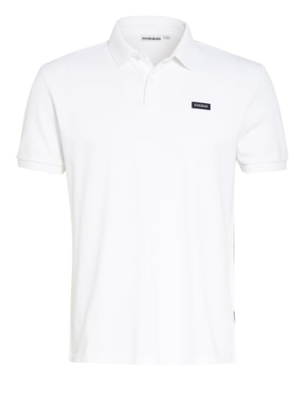 NAPAPIJRI Piqué-Poloshirt ELLIN, Farbe: WEISS (Bild 1)