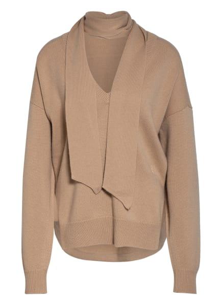 Chloé Oversized-Pullover aus Cashmere, Farbe: CAMEL (Bild 1)