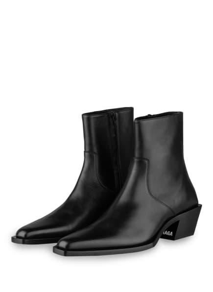 BALENCIAGA Cowboy Boots TIAGA, Farbe: SCHWARZ (Bild 1)