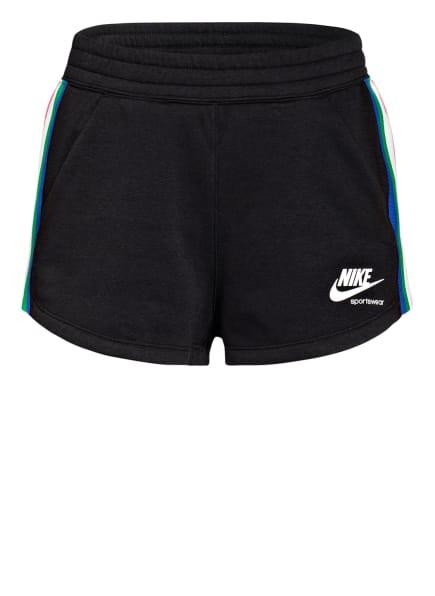 Nike Sweatshorts HERITAGE, Farbe: SCHWARZ (Bild 1)