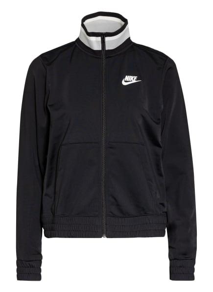 Nike Trainingsjacke HERITAGE, Farbe: SCHWARZ/ GRAU/ WEISS (Bild 1)
