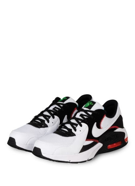 Nike Sneaker AIR MAX EXCEE, Farbe: WEISS/ SCHWARZ/ ROT (Bild 1)