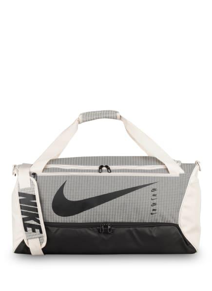 Nike Sporttasche BRASILIA MEDIUM , Farbe: CREME/ GRAU/ SCHWARZ (Bild 1)