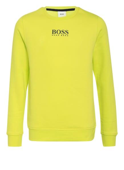 BOSS Sweatshirt, Farbe: NEONGELB (Bild 1)