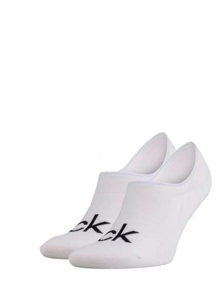 Calvin Klein 2er-Pack Sneakersocken , Farbe: WEISS (Bild 1)
