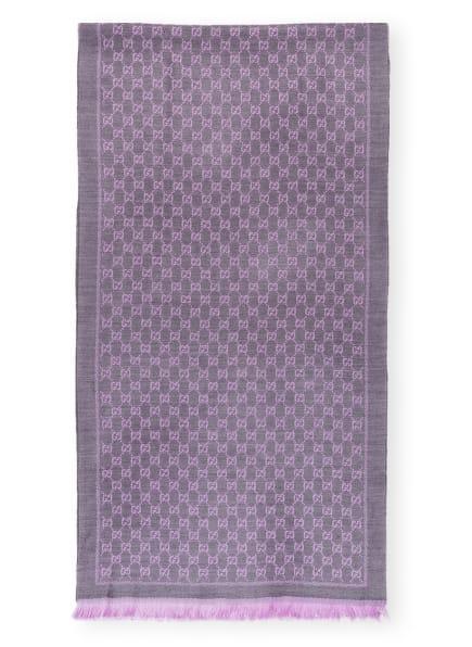 GUCCI Schal , Farbe: HELLLILA/ TAUPE (Bild 1)