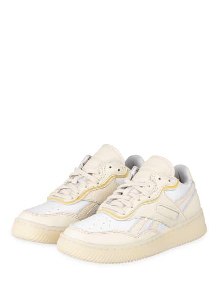 Reebok Plateau-Sneaker DUAL COURT II, Farbe: WEISS/ CREME (Bild 1)