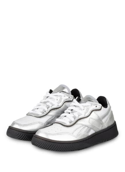 Reebok Plateau-Sneaker DUAL COURT II, Farbe: SILBER/ WEISS (Bild 1)