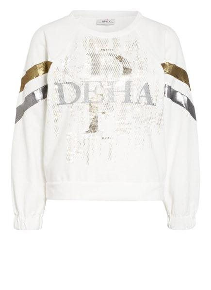 DEHA Sweatshirt, Farbe: WEISS/ GOLD/ SILBER (Bild 1)