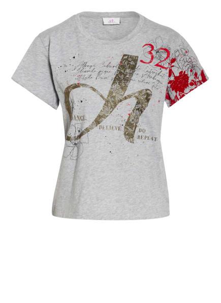 DEHA T-Shirt, Farbe: HELLGRAU/ ROT/ GOLD (Bild 1)