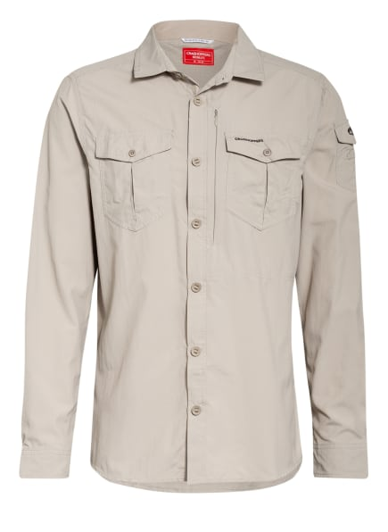 CRAGHOPPERS Hemd Regular Fit, Farbe: BEIGE (Bild 1)