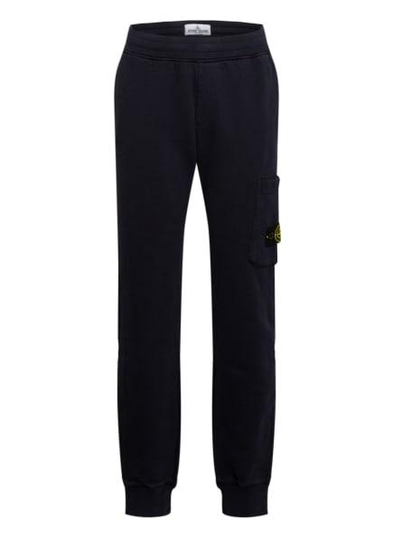 STONE ISLAND JUNIOR Sweatpants, Farbe: DUNKELBLAU (Bild 1)