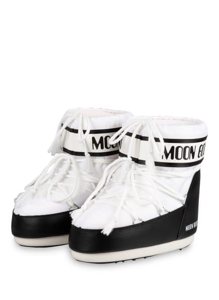 MOON BOOT Moon Boots CLASSIC LOW, Farbe: WEISS/ SCHWARZ (Bild 1)