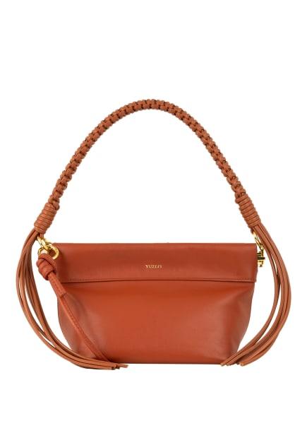 YUZEFI Handtasche GIANT COIN , Farbe: COGNAC (Bild 1)