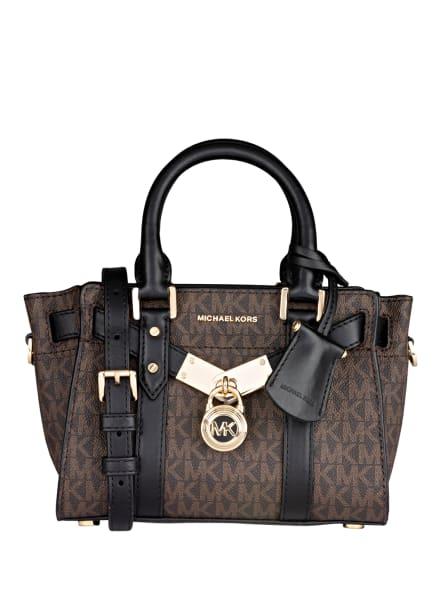 MICHAEL KORS Handtasche NOUVEAU HAMILTON, Farbe: 292 BROWN/BLK (Bild 1)